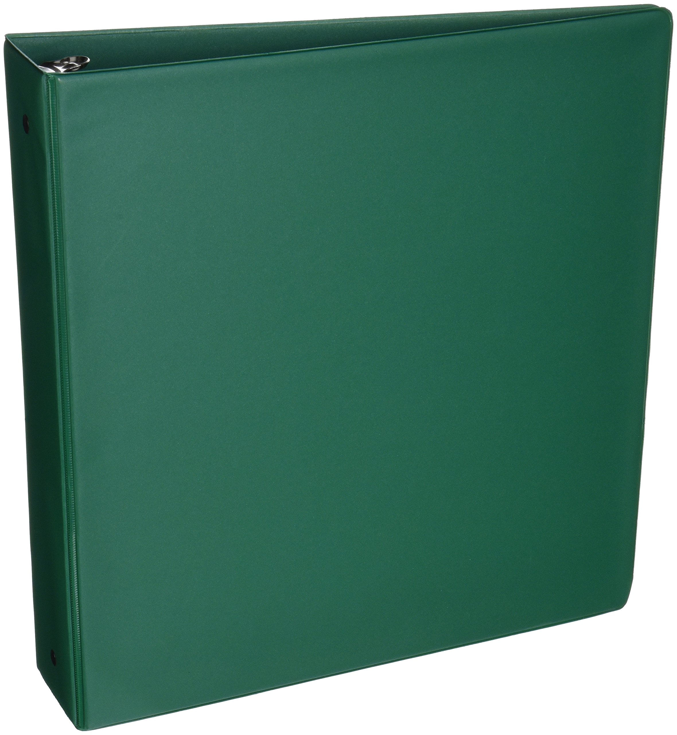 Samsill 2 Inch Value Document Storage 3 Ring Binder , Round Ring, 11 x 8.5 Inches, Green (11604)