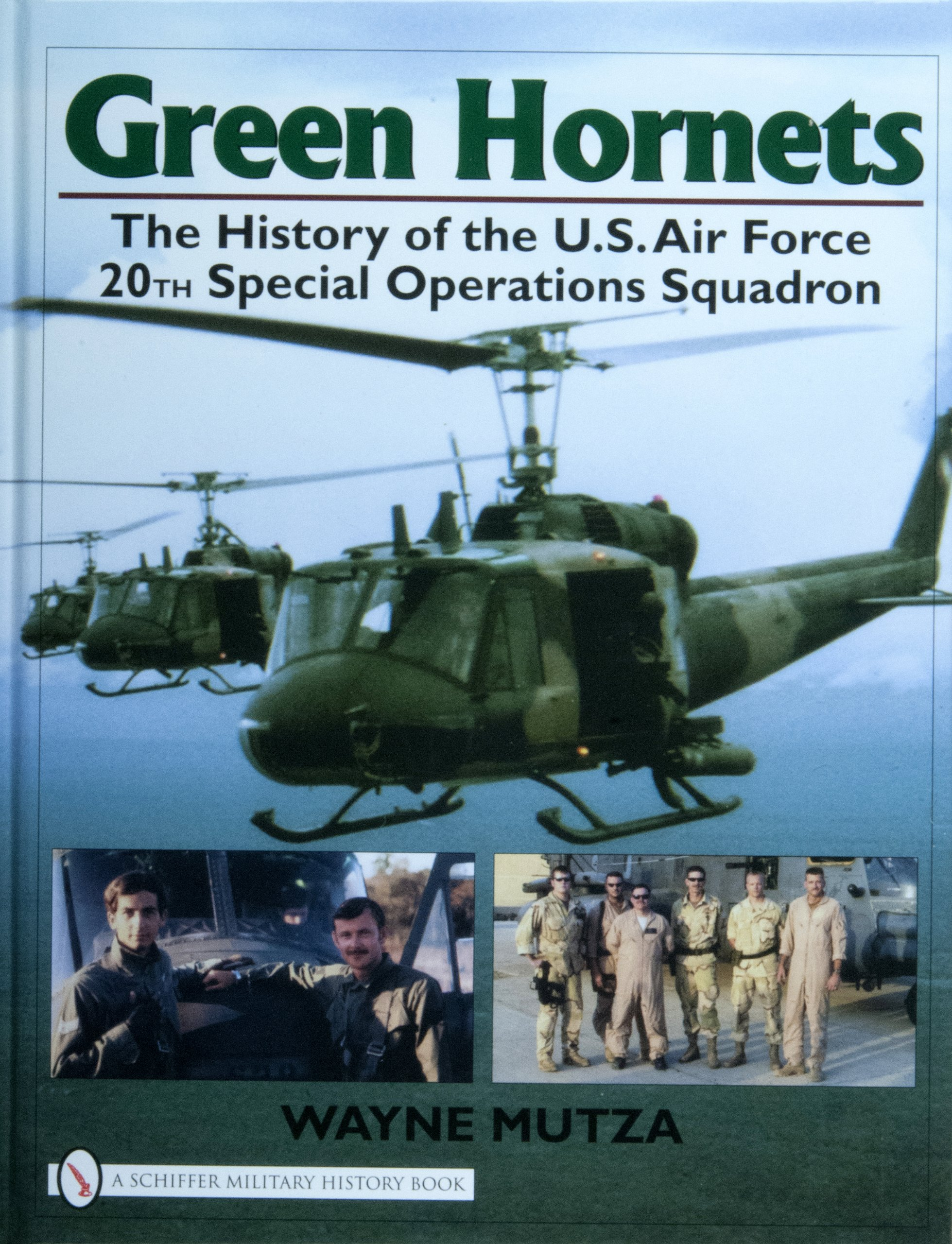 Green Hornets: The History of the U.S. Air Force 20th Special Operations Squadron (Schiffer Military History Book) PDF Text fb2 ebook