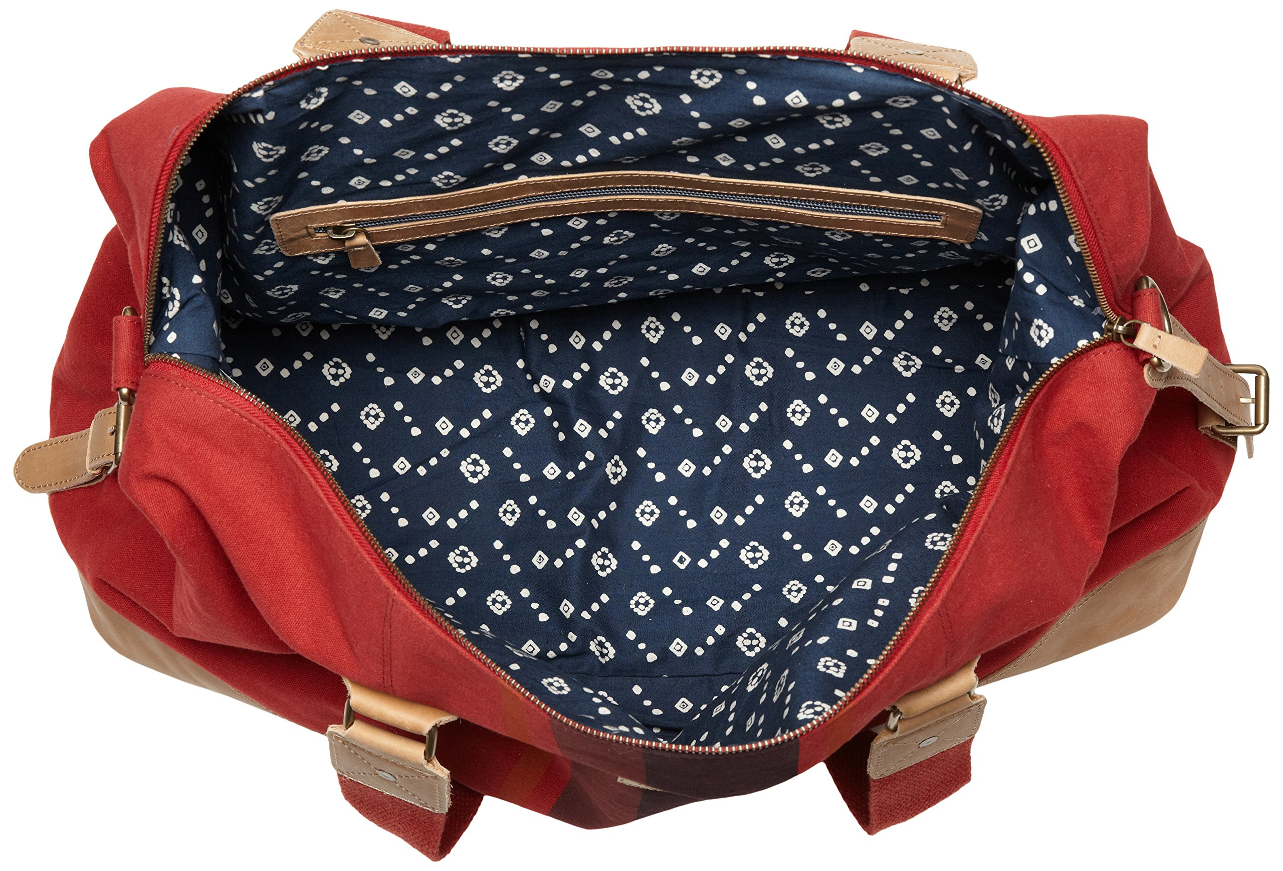 Original Penguin Men's Canvas Weekend Bag Duffel Bag, Pompeian Red, One Size by Original Penguin (Image #5)