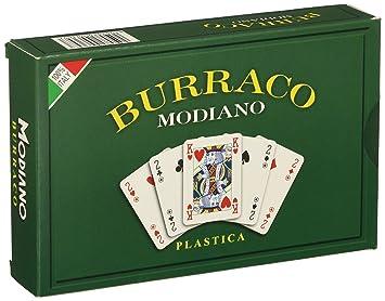 Modiano Burraco - Baraja de Cartas de plástico