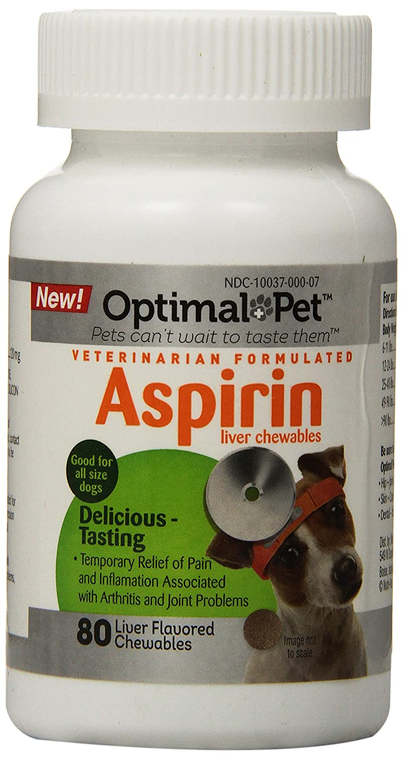 Optimal Pet 80 Count Adult Dog 120mg Aspirin Chewables 67700