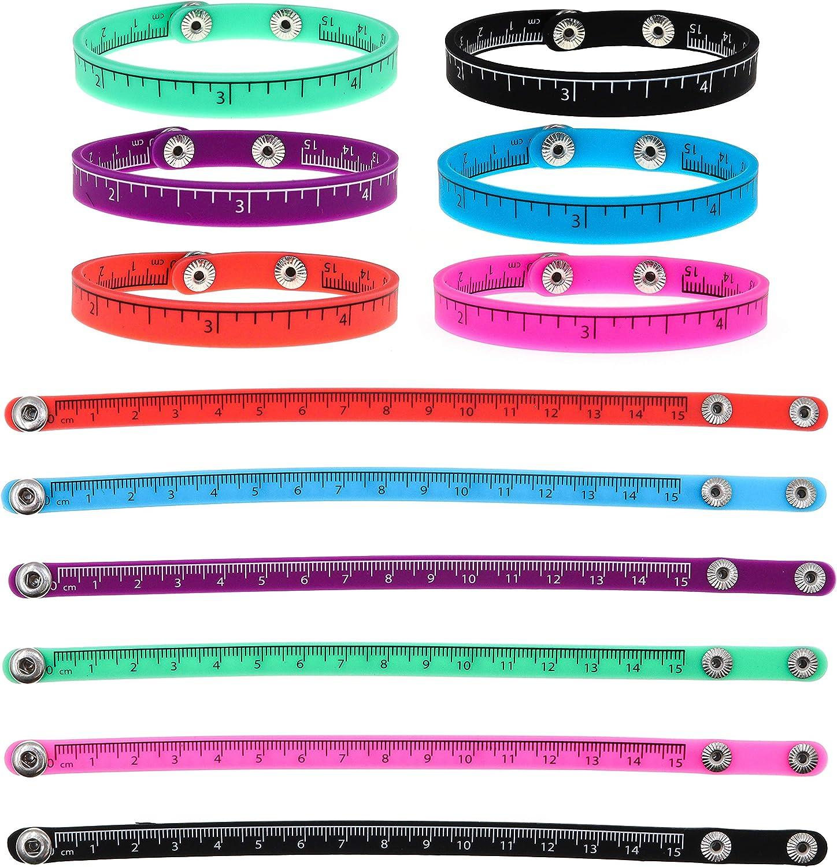 Ruler snap bracelets
