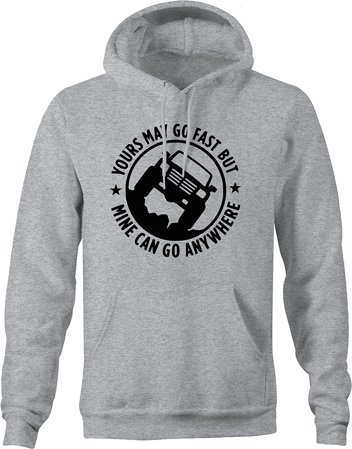 OS Gear American May Go Fast Go Anywhere Pickup Truck Hoodie for Men