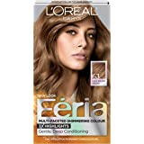 loreal paris feria multi faceted shimmering colour sparkling amber light brown 63 - L Oral Coloration