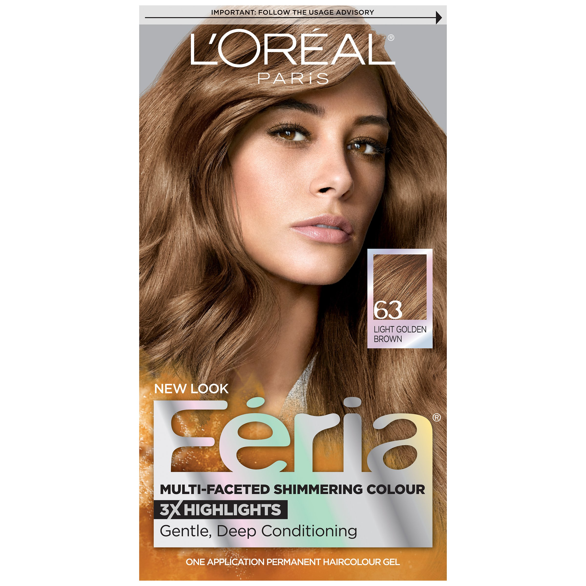 Amazon.com : L'Oreal Paris Feria Hair Color, 60 Light ...