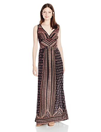2e0aed439d8 Angie Women s Printed Maxi Dress at Amazon Women s Clothing store