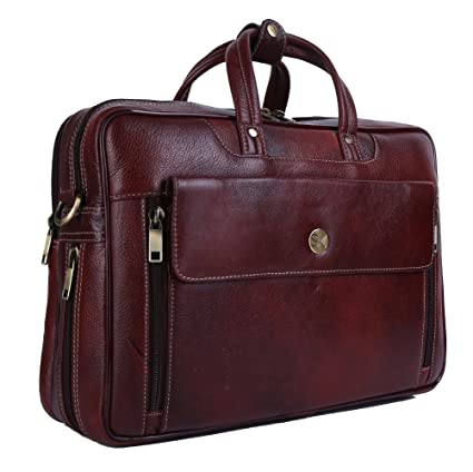 2db5f13fae3 SK TRADER Men s Leather Laptop Messenger Bag - Buy SK TRADER Men s Leather  Laptop Messenger Bag Online at Low Price in India - Amazon.in
