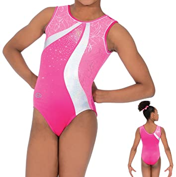 dbfee4917578 The Zone Sleeveless Round Neck Squiggle Gymnastics Leotard Z472SQU ...
