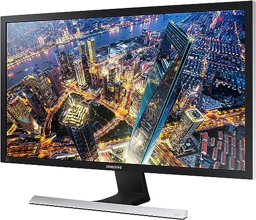 Samsung U28E570D Monitor 28 Pollici, UltraHD, 4K, Pannello TN, 3840 x 2160, 1 ms, 16:9, 60 Hz, 2160p, LED, AMD FreeSync, 2 HDMI, Display Port Incluso, Nero