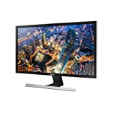 "Samsung U28E570D Monitor per PC Desktop 4K Ultra HD 28"", Basic, UHD, 3840 x 2160, 60 Hz, 1 ms, 2 HDMI, Cavo, Display Port Incluso, Nero"