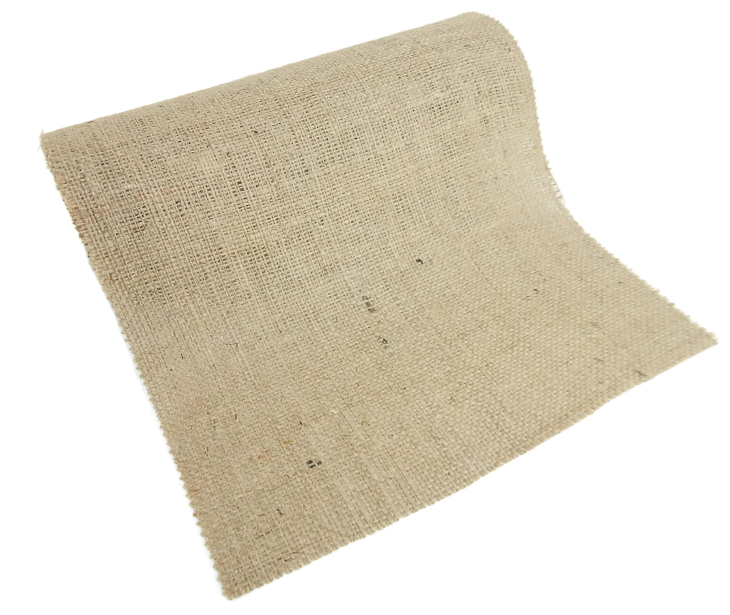 Burlap and Beyond 12'' Natural Burlap Roll - 50 Yards Eco-Friendly Jute Burlap Fabric Unfinished Edges 12 Inch by Burlap and Beyond (Image #3)