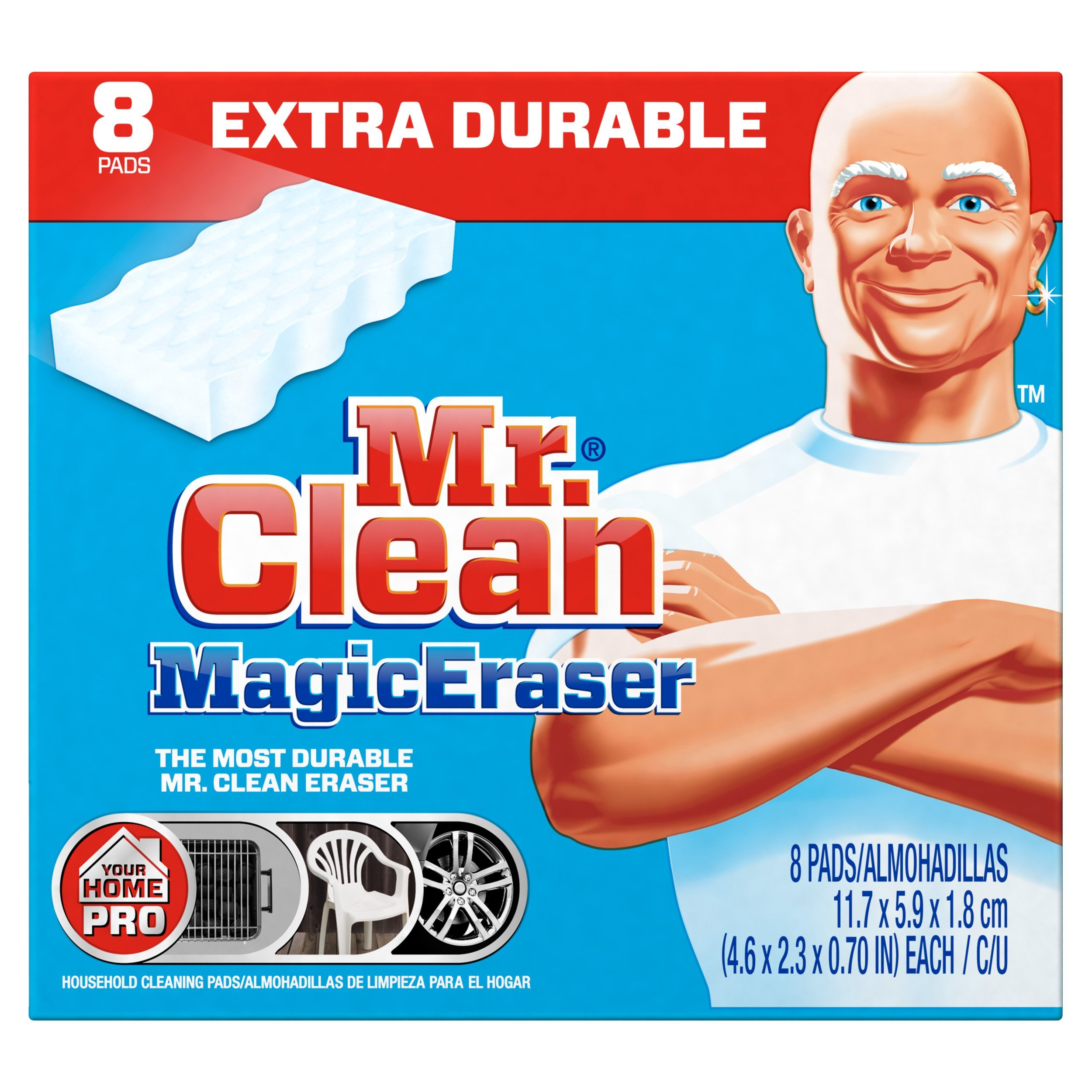 Amazon Mr Clean Magic Eraser Cleaning Pads 8 Count Box