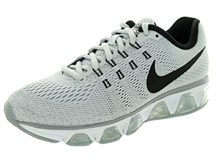 the best attitude 330b7 e7599 Image Unavailable. Image not available for. Color  Nike Womens Air Max  Tailwind 8 Pure Platinum Blck WLF Gry Wht Running