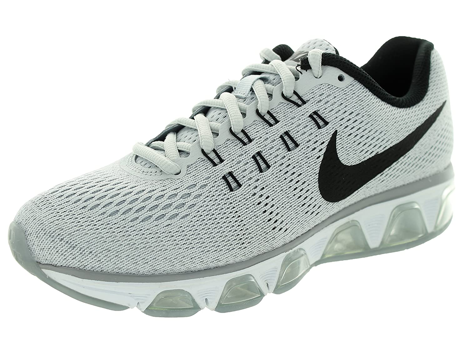buy popular 19fc5 56f38 Amazon.com  Nike Women s Air Max Tailwind 8 Pure Platinum Blck WLF Gry Wht  Running Shoe 6 Women US  Shoes
