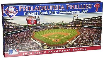 0d1b594b MasterPieces MLB Philadelphia Phillies Stadium Panoramic Jigsaw Puzzle,  Citizens Bank Park, 1000 Pieces