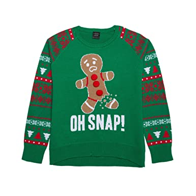 lol vintage girls christmas sweaters extra small green ginger - Vintage Christmas Sweater