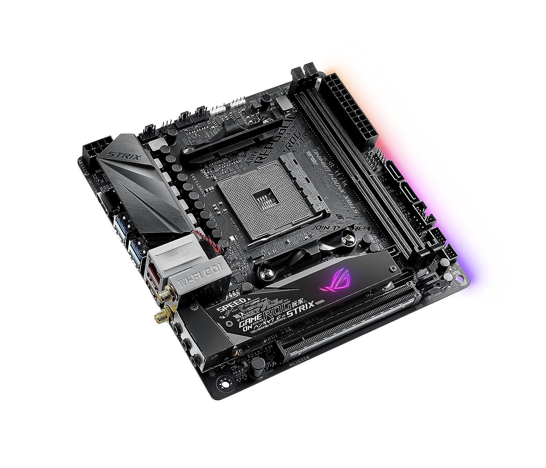 Amazon Asus STRIX X470 I AMD Mini ITX Gaming Motherboard puters & Accessories