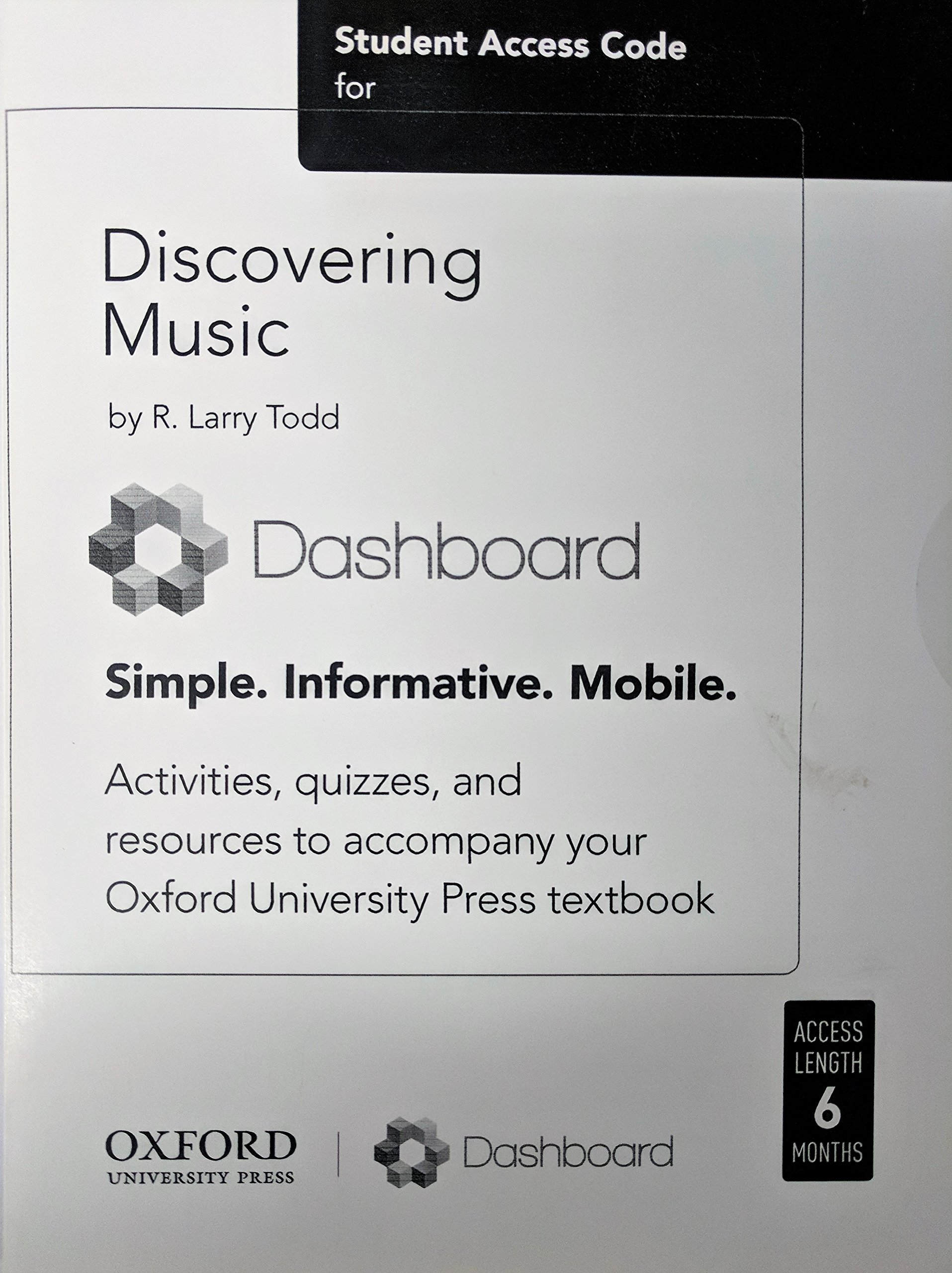 Download Student Access Code for Discovering Music DASHBOARD pdf epub