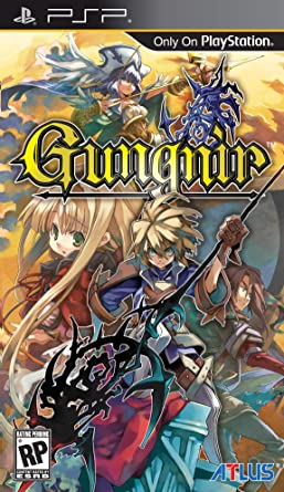 Amazon.com: Gungnir - Sony PSP: Video Games