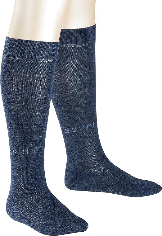 ESPRIT Boys Block Stripe Knee-High Socks, pack of 2