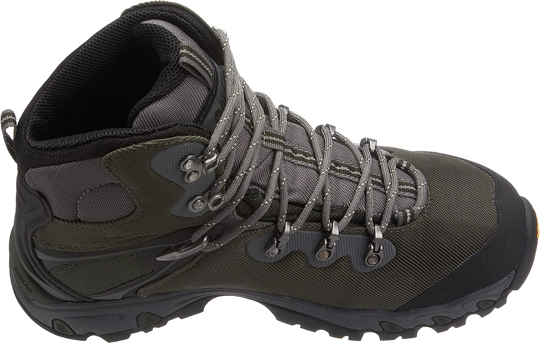 Mens Hi-Tec Keswick Waterproof Hiking Boots Brown//Orange Size 8 Woman/'s 9.5