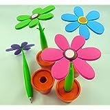 Set di 4 colori di fiori in vaso Novità Penne a sfera (4 pezzi)