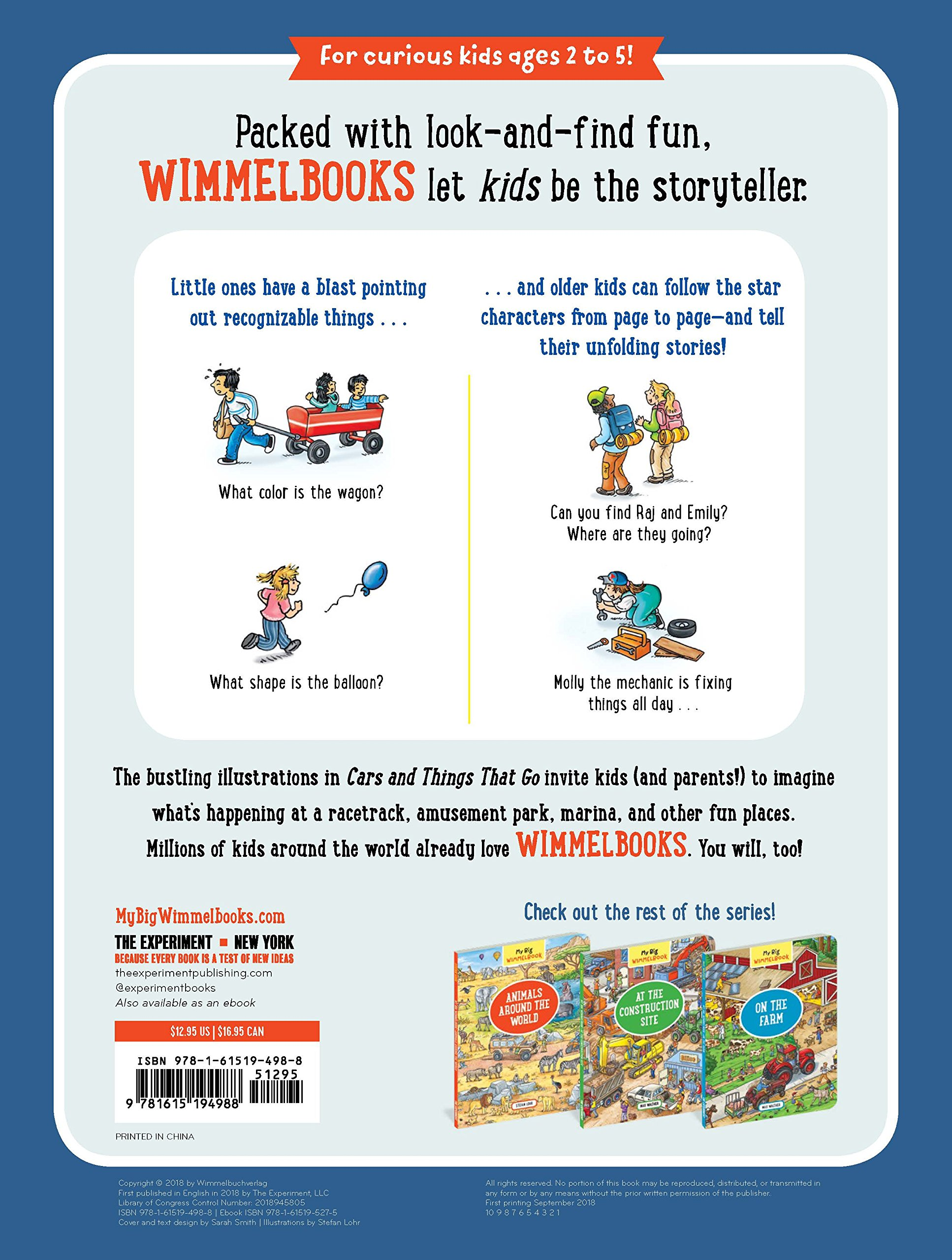 My Big Wimmelbook―Cars and Things That Go by The Experiment (Image #2)