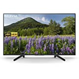 Sony KD49XF7003 49 Inch 4K HDR Ultra HD Smart TV with Freeview Play, Black(2018 Model)
