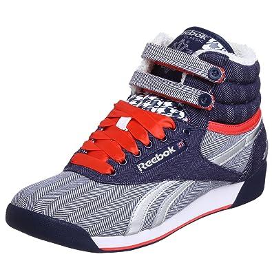 e639f87727058e Reebok Women s Freestyle Hi Cities London Sneaker