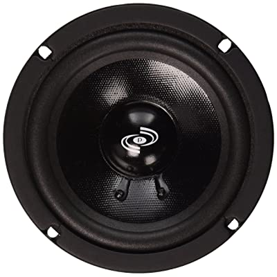 Pyle 5 Inch Woofer Driver - Upgraded 200 Watt Peak High Performance Mid-Bass Mid-Range Car Speaker 450Hz - 7kHz Frequency Response 15 Oz Magnet Structure 8 Ohm w/ 92dB and Paper Coating Cone - PDMR5: Musical Instruments