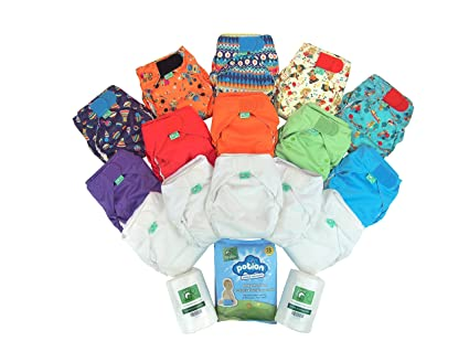 TotsBots reutilizable Everyday Easy Fit Pañales Kit
