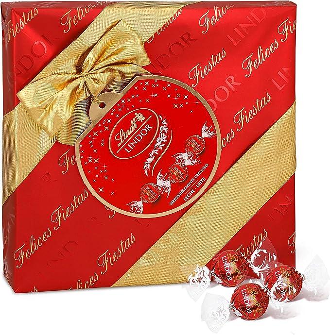 Lindt Lindor Caja de Regalo de Bombones de Chocolate con Leche ...