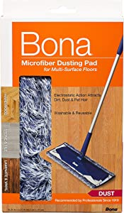 Bona Hard-Surface Floor Microfiber Dusting Pad