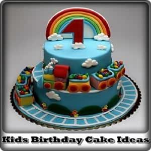 Wondrous Amazon Com Kids Birthday Cake Ideas Appstore For Android Personalised Birthday Cards Xaembasilily Jamesorg