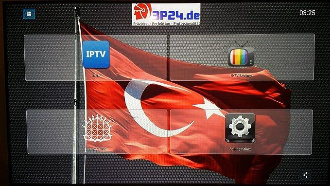 Android IPTV Box, con hasta 200 canales turcos, (BOX CS918G Plus h ...
