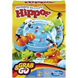 Elefun & Friends Hungry Hungry Hippos Grab & Go Game (Includes 2 Chomping Hippos)