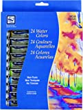 Loew-Cornell Assorted 12-Milliliter Watercolor Paint 24-Pack