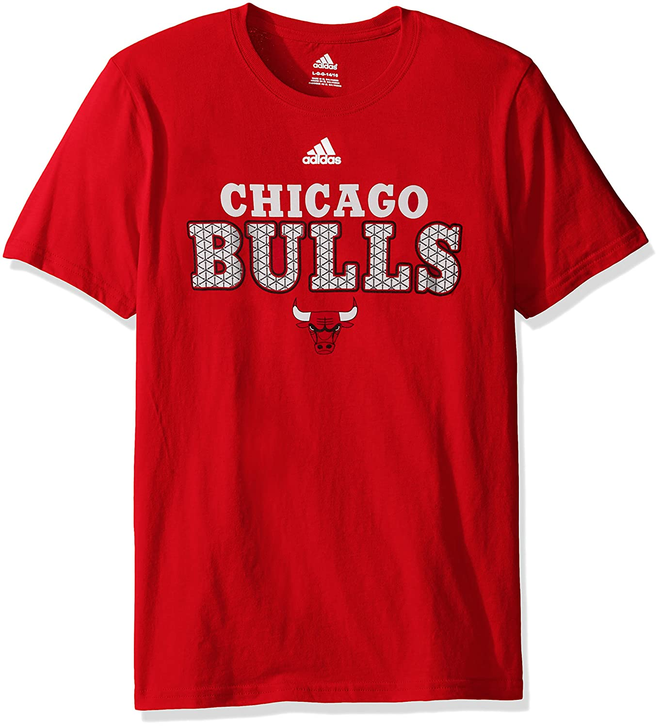NBA Boys NBA Youth Boys 8-20 Bulls Meshing Around Short Sleeve Tee