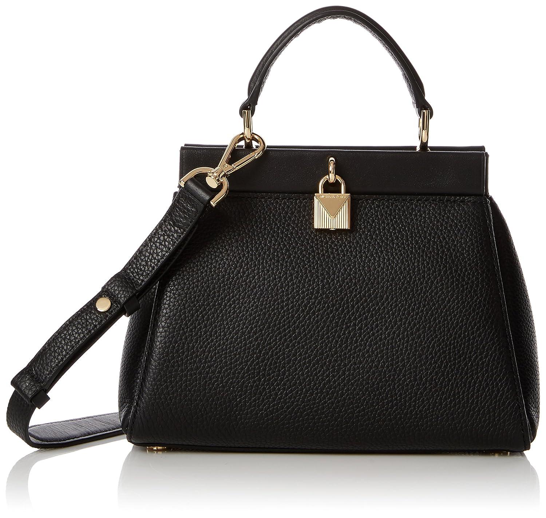 b4b9eae175cd Michael Kors Womens Gramercy Sm Th Satchel Top-Handle Bag Black (Black):  Handbags: Amazon.com