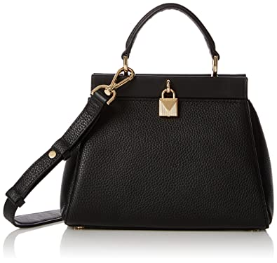 5788cc1cd23e Michael Kors Womens Gramercy Sm Th Satchel Top-Handle Bag Black (Black):  Handbags: Amazon.com