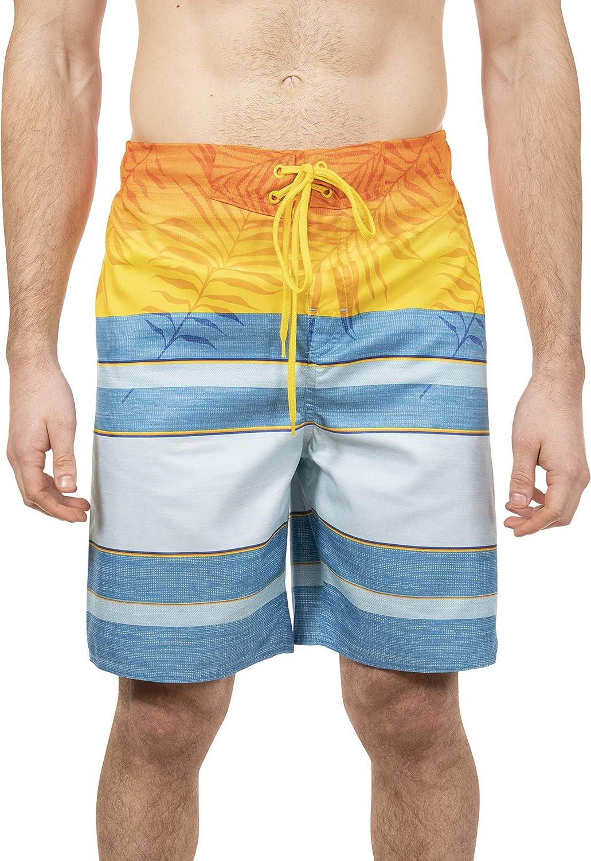LAGUNA Mens Point Break Boardshort Swim Trunks Bathing Suit, UPF 50+