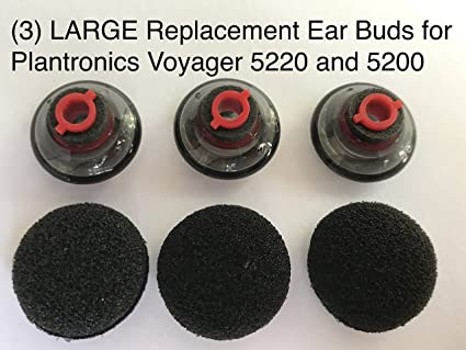 b6b244c3db9 Amazon.com: Replacement Ear Buds Earbuds Tips Large for Plantronics ...
