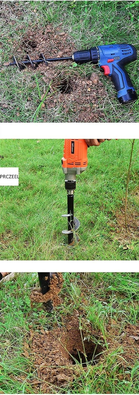 18 9//18//24Alloy Roto Drill Bit,Auger Spiral Drill Bit Loose Soil,Plants Twist Drill,Garden Hole Digger Garden Pit Planting