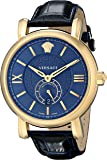 Versace Men's VNA030014 URBAN GENT Analog Display Automatic Self Wind Blue Watch