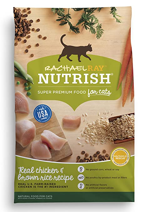 Amazon rachael ray nutrish natural dry cat food chicken rachael ray nutrish natural dry cat food chicken brown rice recipe forumfinder Images