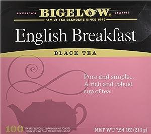 Bigelow English Breakfast Black Tea, 100 Count