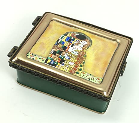 Elegant Amazon.com: Klimt Miniature Jewelry Box By Kelvin Chen, The Kiss, Handmade  And Enamelled, 3 Nice Ideas