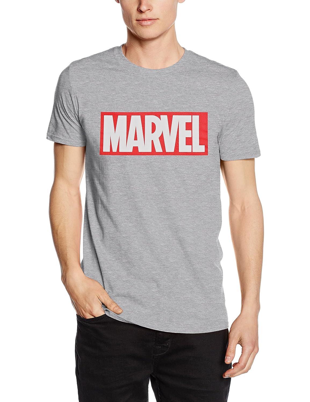 TALLA S. Marvel Camiseta Manga Corta Core Logo