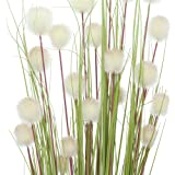 Mazzo di fiori a palla da decorazione, set, Plastica, grün und weiß, 4
