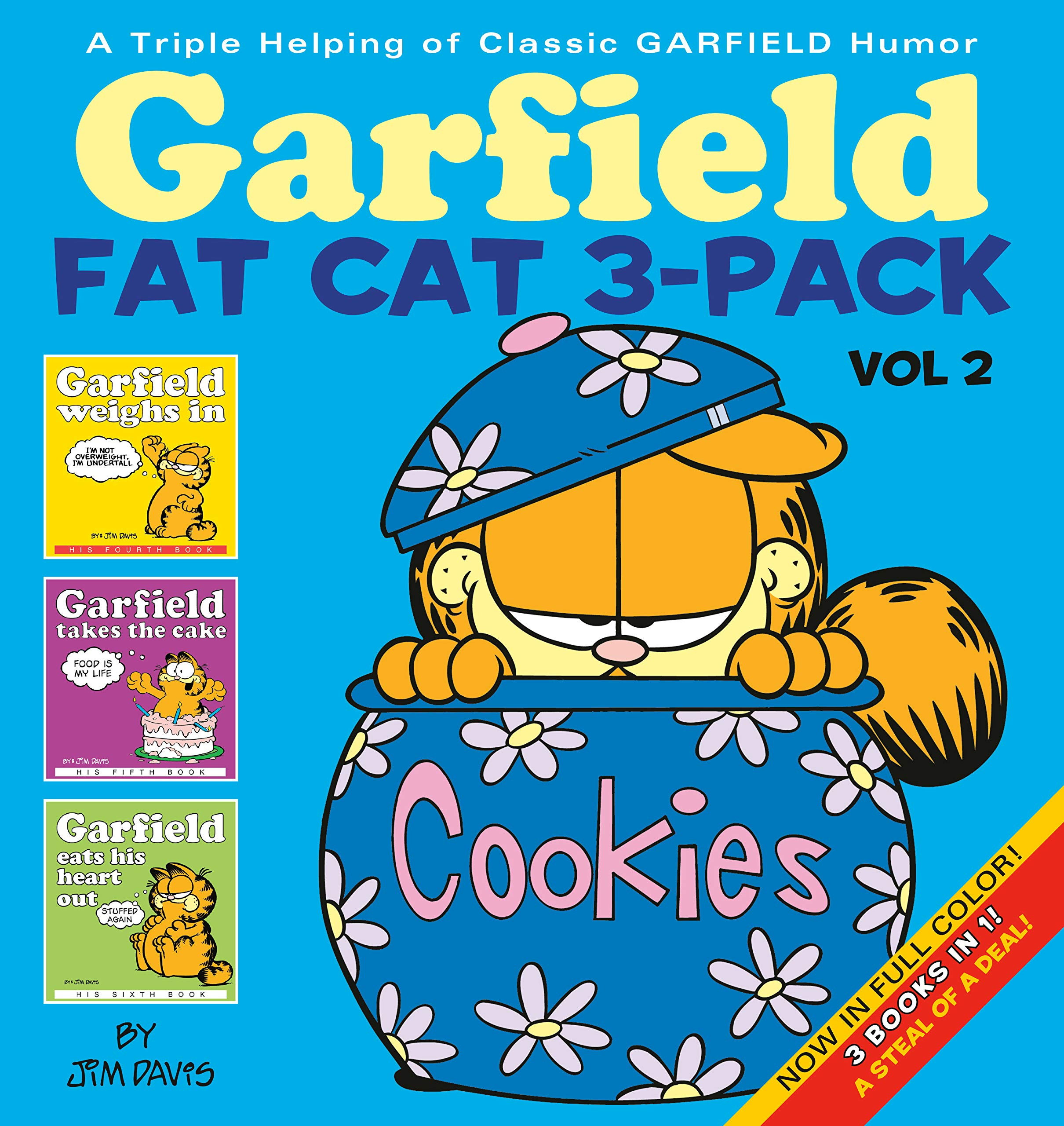 Garfield Fat Cat 3 Pack Vol 2 A Triple Helping Of Classic Garfield Humor Davis Jim 9780345464651 Amazon Com Books